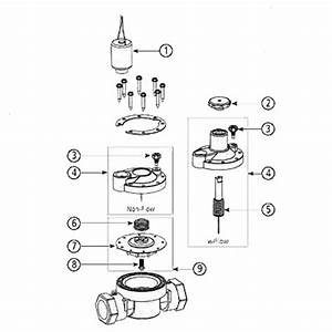 Irritrol 1 U0026quot  Fipt 205tf Electric Solenoid Valve W  Flow Control