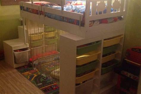 barre cuisine ikea lit kritter customisé pour enfant bidouilles ikea