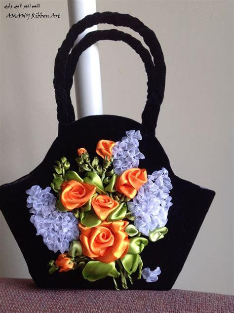 pin de anna kryukova en vyshivka bordados en cinta bolso