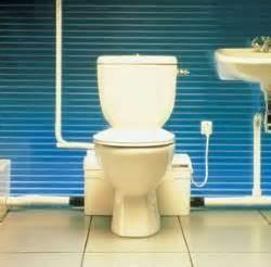 saniflo saniplus toilet with macerator series pump