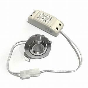 Petite Led Encastrable : mini spot led encastrable 3w 230v ~ Edinachiropracticcenter.com Idées de Décoration