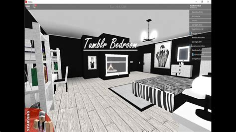 roblox bloxburg touring  tumblr bedroom