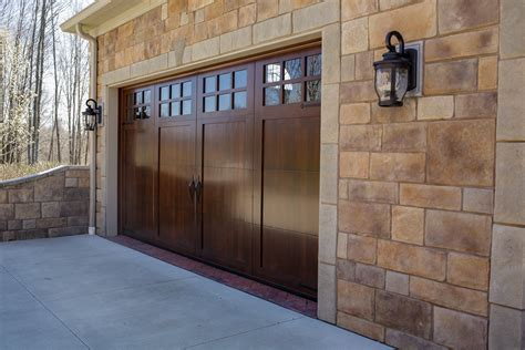 wood garage doors wayne garage door