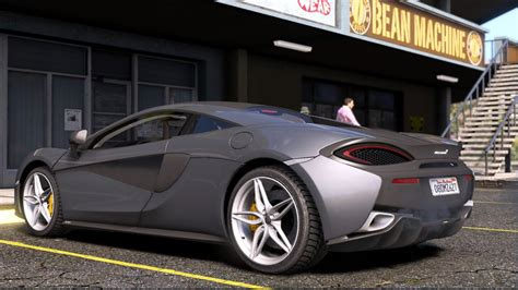 Mclaren 570s Modification by Gta 5 2015 Mclaren 570s Add On Replace 1 2 1 Mod