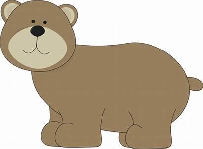 Bear Brown Clipart Clip Bears Teddy Nursery