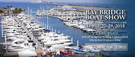 Annapolis Boat Show Sponsor by Annapolis Boat Shows The Nation S Largest In Water Boat