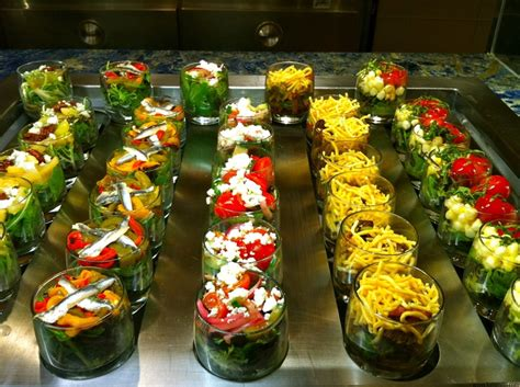 Individual Salad Buffetthe Wynn  Delicious Displays
