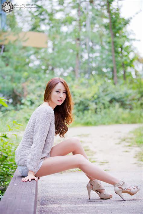 Eun Bin Leggy Outdoor Photoshoot