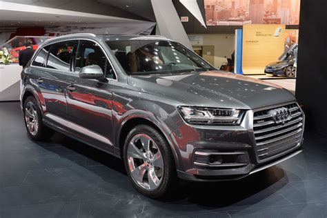 2016 Audi Q7 At The Detroit Auto Show Carponents