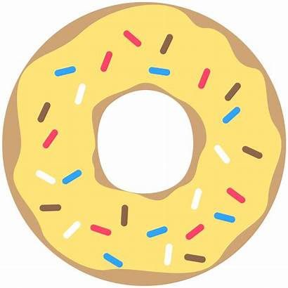 Donut Printable Party Banner Doughnut Birthday Yellow