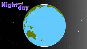 Earth  Day  U0026 Night  Interactive Diagram For Kids