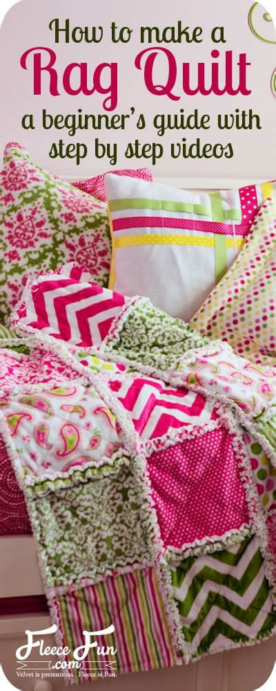 how to make quilts how to make a rag quilt easy beginner s guide fleece