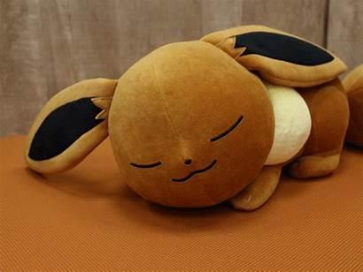 Eevee Sleeping Pokemon Sleep Cuddle Plush Pillow
