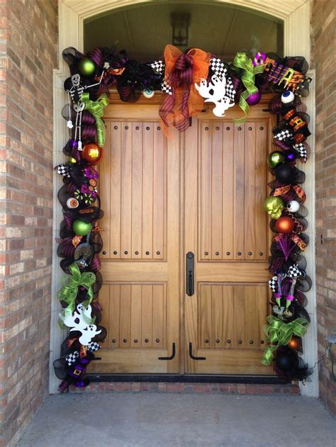 ideas  halloween garland  pinterest