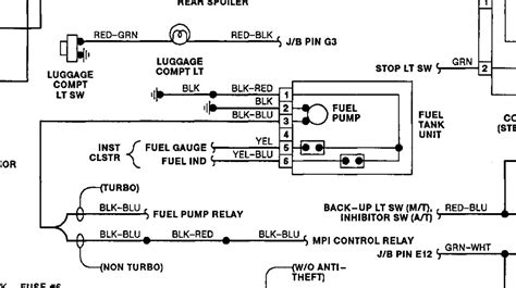 Wiring Diagram For Tank Fuel Pump