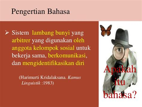arti fungsi  ragam bahasa indonesia