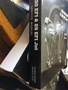 Mercury 90 30 Efi Hp Oem Service Manual New