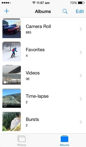 how to make a photo album on iphone iphone 6 tips how to create an album in photos favoritize your best photos for prioritized viewing