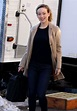 OLIVIA WILDE on the Set of Life Itself in New York 03/20 ...