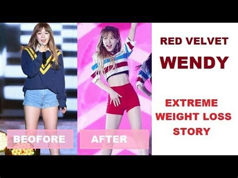 red velvet wendy extreme weight loss   youtube