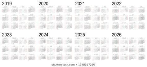 gregorian calendar images stock vectors shutterstock