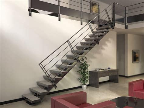 Escalier D Intérieur Pas Cher by Acheter Un Escalier M 233 Tallique 224 Limon Central Stairkaze