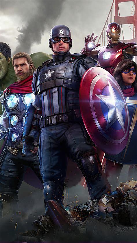 1080x1920 4k Marvels Avengers 2020 Iphone 7,6s,6 Plus ...
