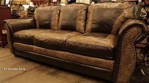 el dorado 100 hand cut top grain leather sofa made in usa With leather sectional sofa made in usa