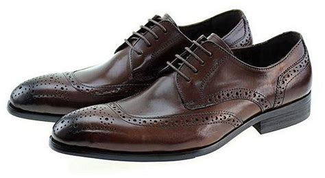 Generic Classic Men Casual Business Genuine Leather Derby