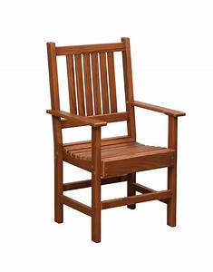 Wooden garden chairs with arms, antique oak furniture
