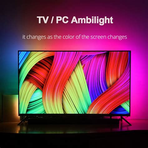 diy ambilight tv pc screen usb led hdtv