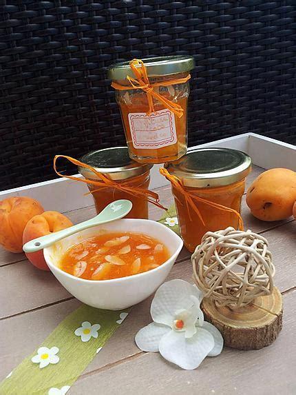 recette de confiture faites maison d abricots et amandes effil 233 s