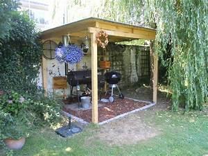 Grill überdachung Holz : berdachung grillterrasse grillforum und bbq ~ Buech-reservation.com Haus und Dekorationen