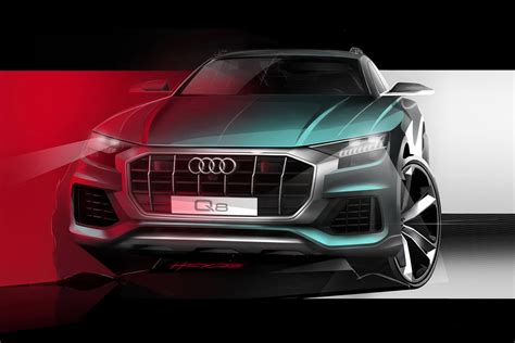 Audi Q8 Suv Concept  Official Pictures  Auto Express