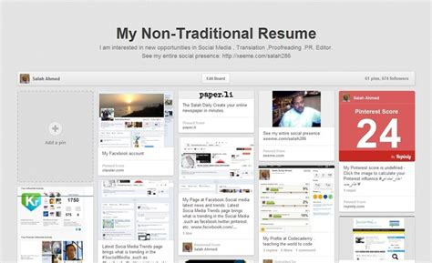 What Is A Non Traditional Resume by Pin By Kate Hughes On Tech Social Media