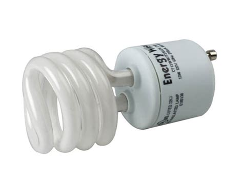 bulbrite 13w warm white gu24 spiral cfl twist lock bulb