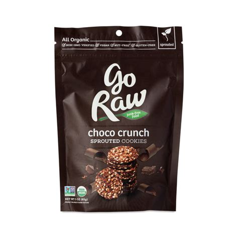 Organic Raw Chocolate Super Cookies by Go Raw - Thrive Market