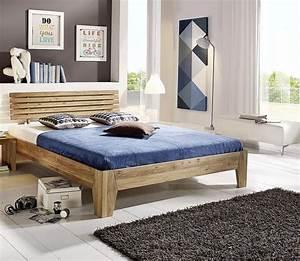 Tagesdecke Für Bett 180x200 : doppelbett 180x200 eichebett massiv bett wildeiche ge lt ~ Bigdaddyawards.com Haus und Dekorationen