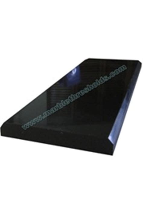 absolute black polished granite threshold 4 quot x36 quot x5 8