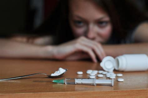 heroin addiction    rise