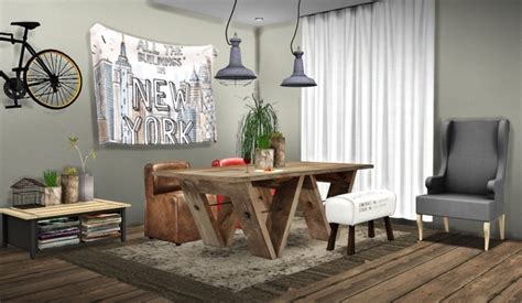 Rh Dining At Mxims » Sims 4 Updates