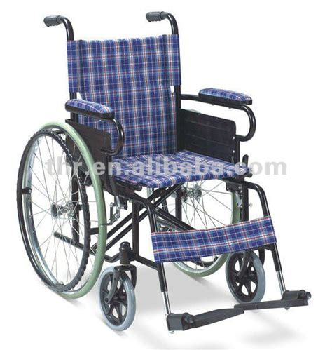 thr 909b high quality steel wheel chairs for disabled