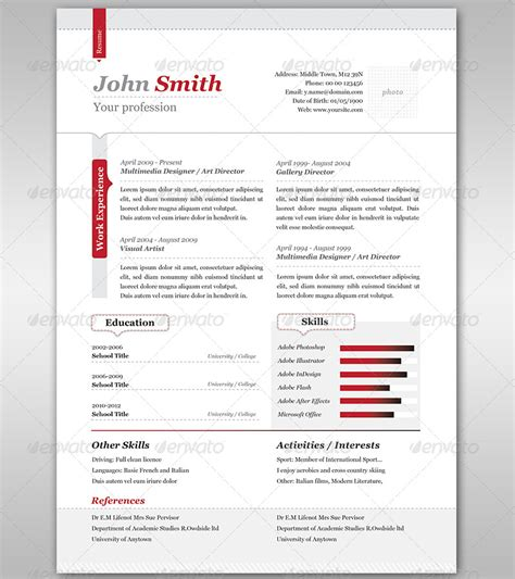 20 best creative resume templates exles