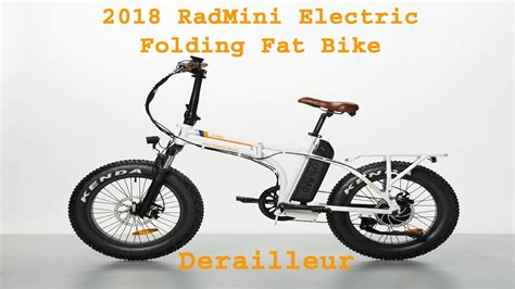 2018 Radmini Electric Fat Folding Rad Power Bike 02