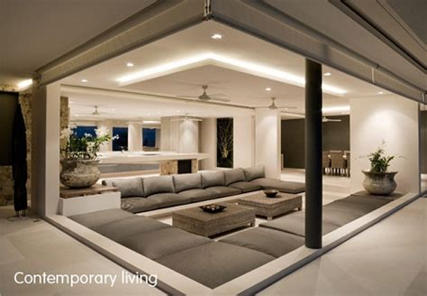 Interior Design For Living Room Roof by Sydney Interior Design Contemporary Livingroom With