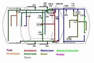 Schaltplan Anhangerkupplung Ford Mondeo Mk3
