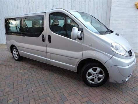 Renault Trafic 9 Seater by Renault Trafic Ll29 9 Seater Minibus 2 0 Dci 115 Lwb