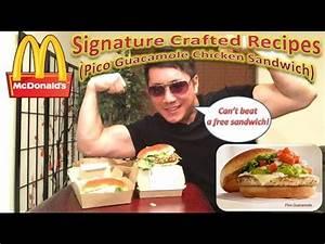 McDonald's Signature Crafted Recipes (Pico Guacamole ...