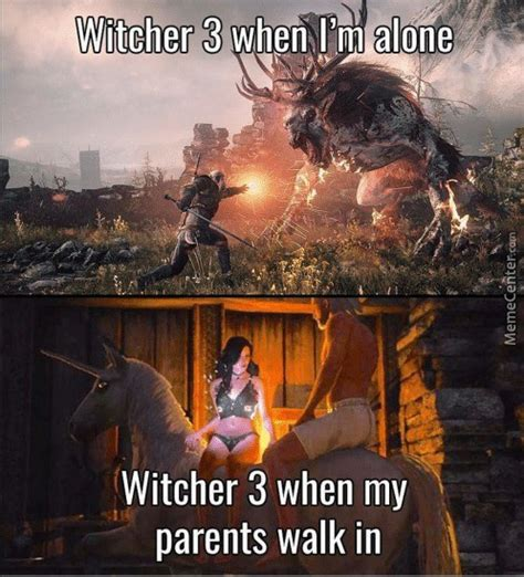 Witcher 3 Memes - everytime i play witcher 3 gaming