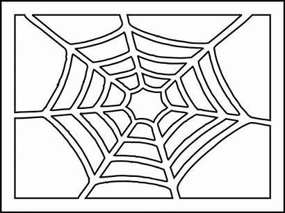 Spider Stencil Halloween Want2scrap